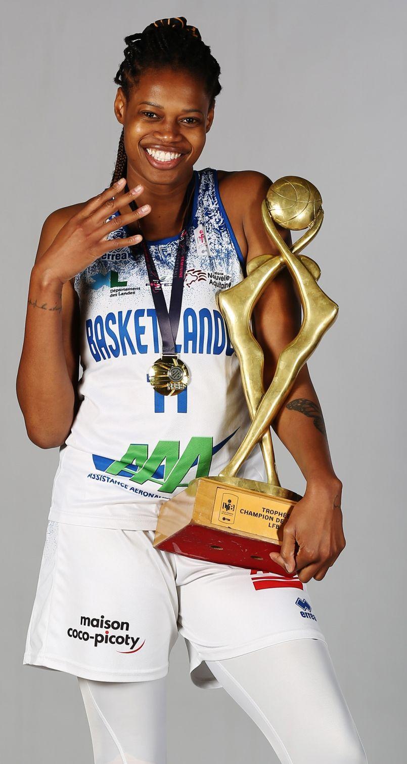Les filles de Basket Landes sur le toit tricolore, championnes de France 2021