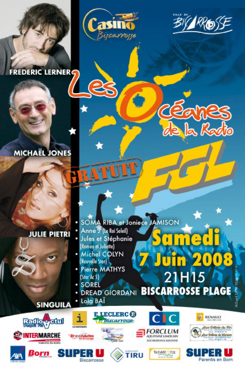 11ème Océanes de la Radio 2008