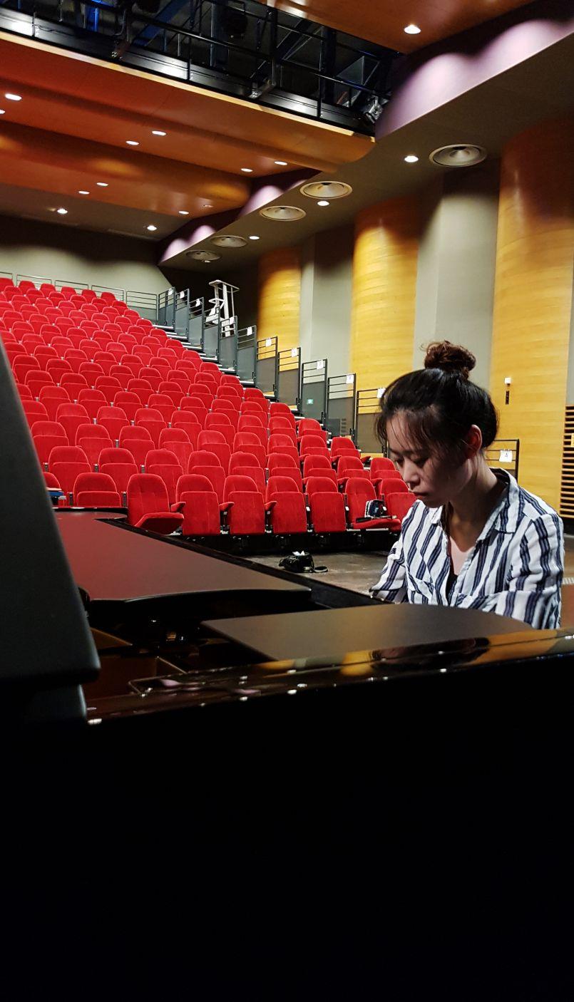 Musique classique et 'Frenchy Us Camp' 100% anglais à Biscarrosse...