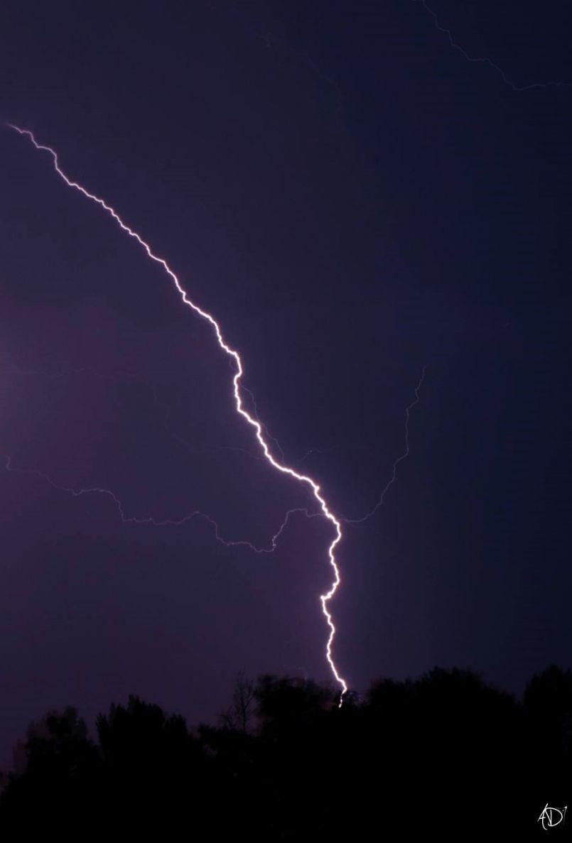 Dans la crainte des tempêtes passées. Gros orage hier sur les Landes, frayeurs parfois.