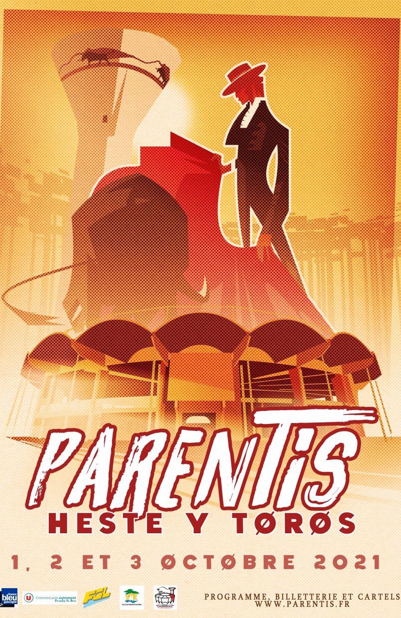 Parentis en Born vous invite ces 1er, 2 et 3 Octobre à sa première 'Heste Y Toros'