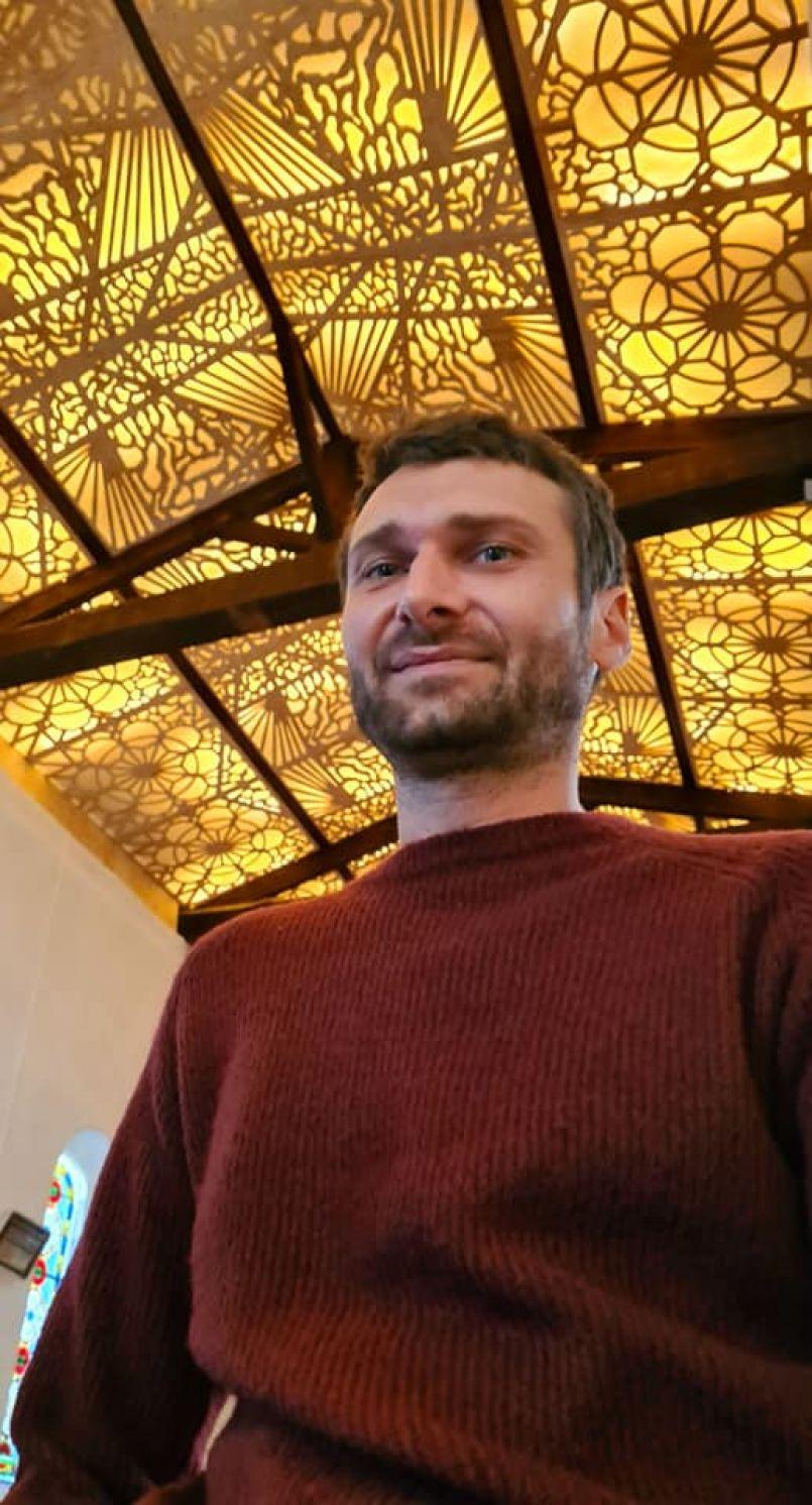 Pontenx les forges : la Chapelle de Bourricos se dote d'un plafond artistique inauguré ce 11 septembre dernier. La signature de la Forêt d'Art Contemporain