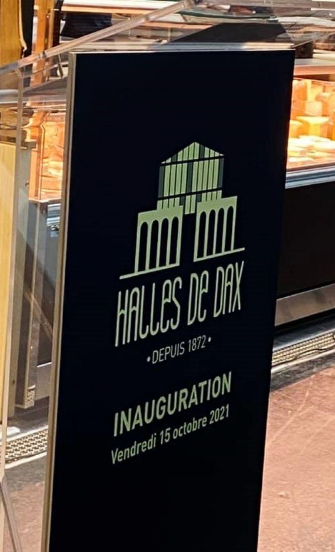 Edition spéciale 'Inauguration des Halles de Dax'. Interviews du maire Julien Dubois, des architectes et de deux commerçants désormais installés.