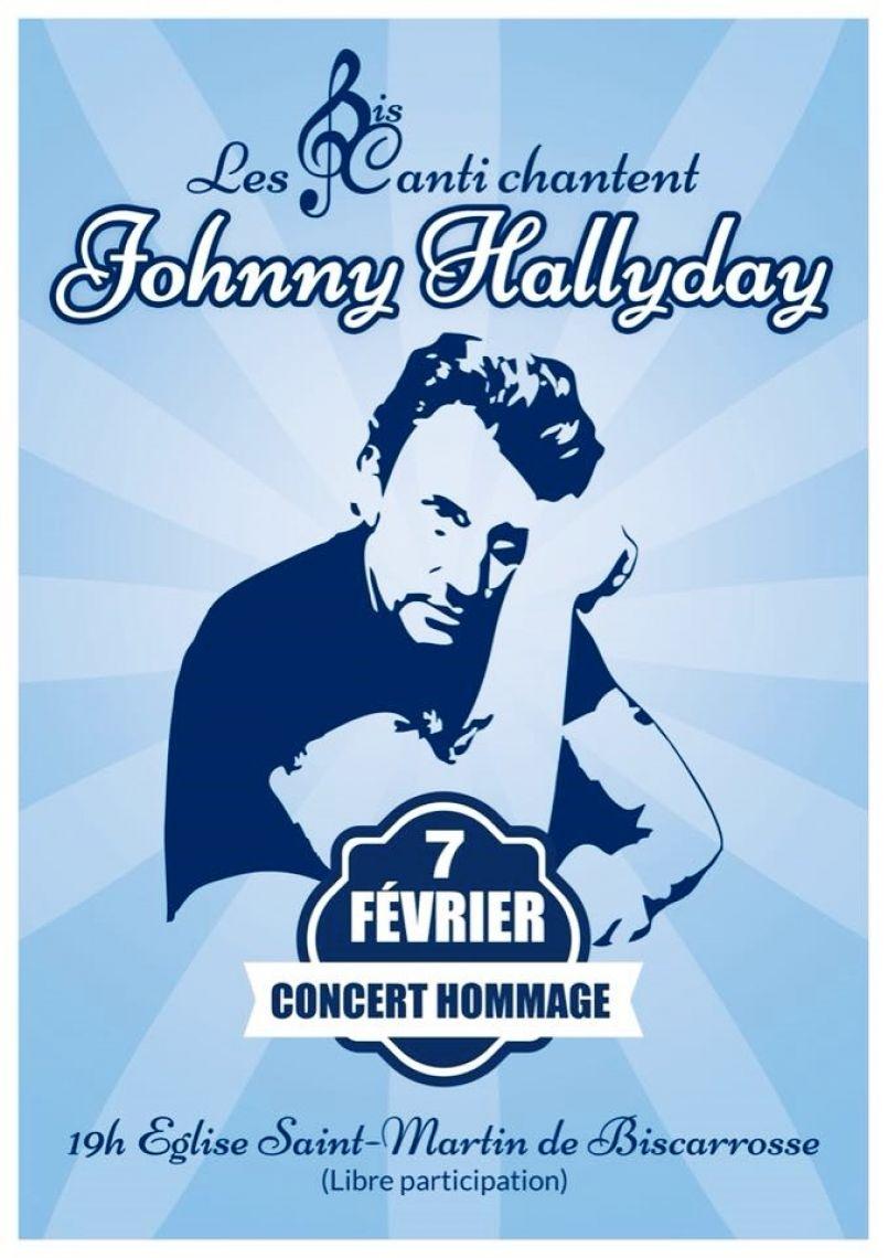 Bis'Canti chante ce 7 février Johnny Hallyday à Biscarrosse, 'Cirque' ce samedi avec le Crabb