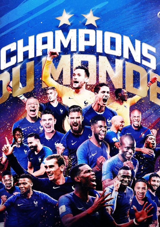 Les Landes ont vibré avec nos champions du monde de football. Bravo les 'Bleus'