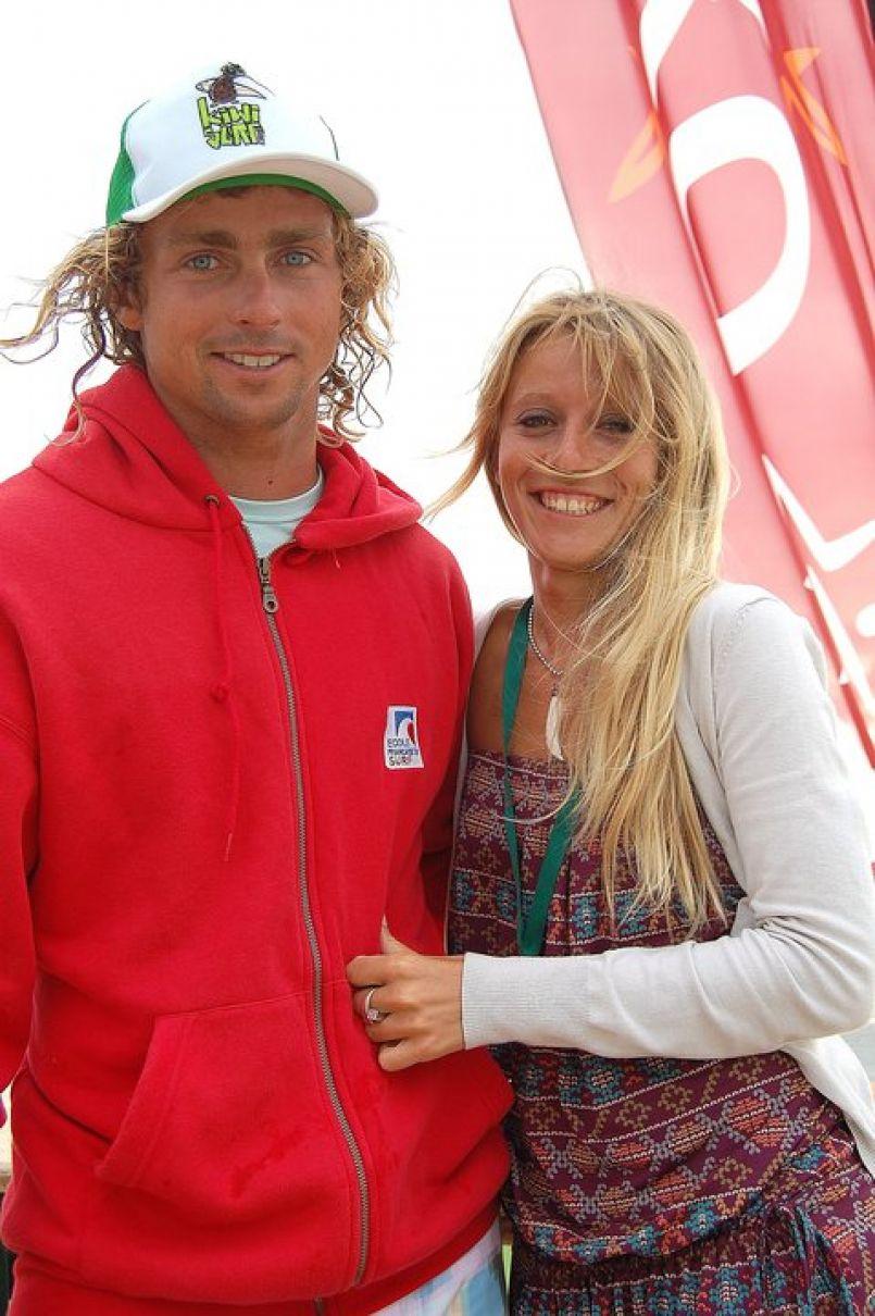 Dhélia et Clément Cétran champions du monde 2016 de Surf Tandem. Troisième titre.