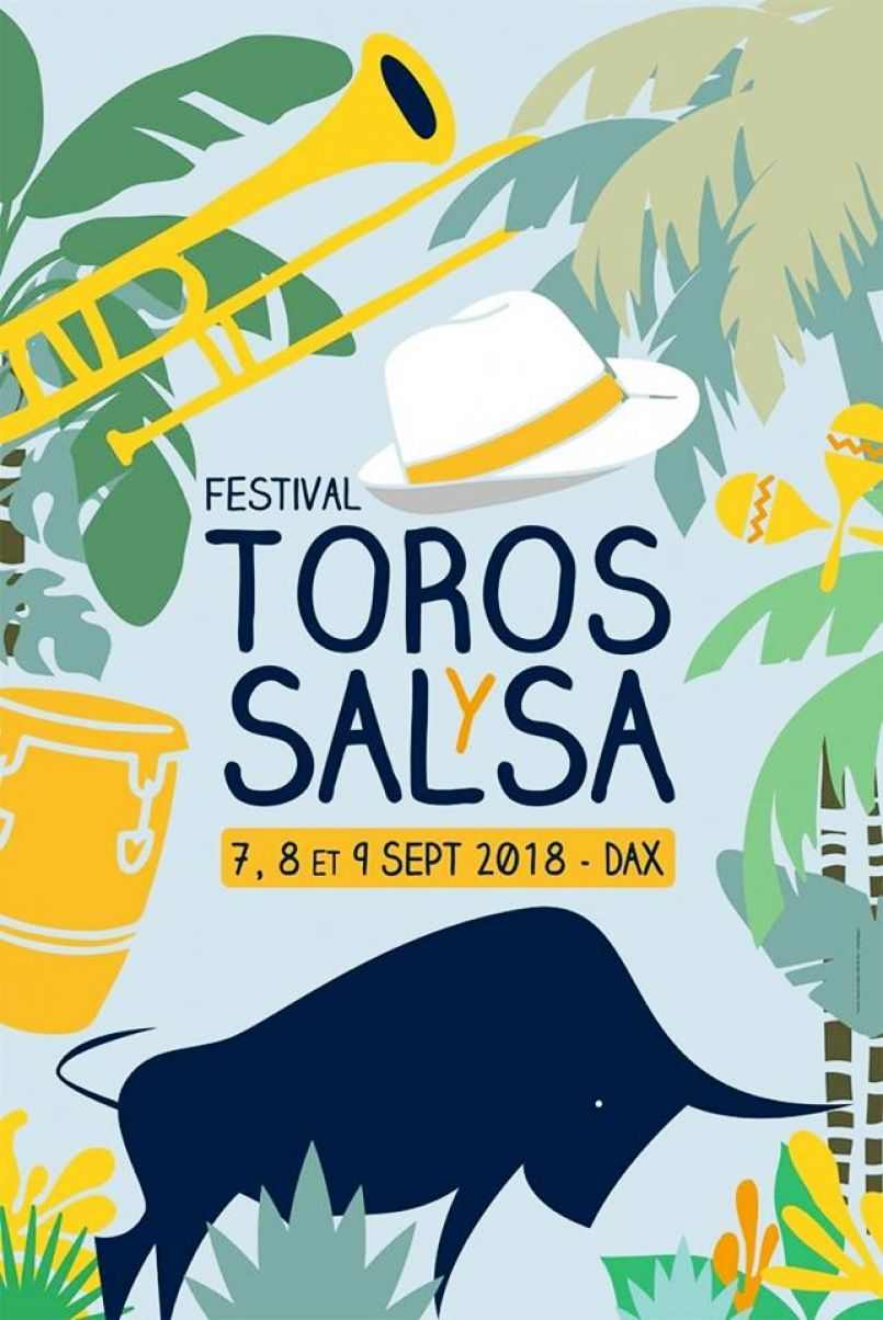 Carte latine à Dax ces 8 et 9 septembre avec la 24ème édition de Toros Y Salsa