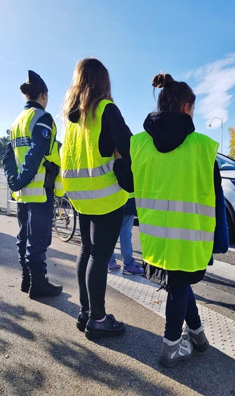 'Jaune' week-end dernier dans les Landes, entre manifestations et Télethon Mimizannais