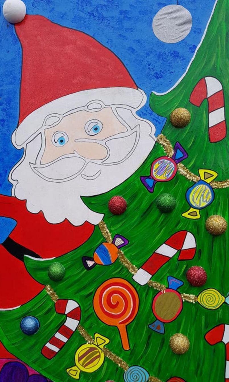 Biscarrosse : première journée favorable pour les professionnels du 'Marché de Noël' de Biscarrosse.