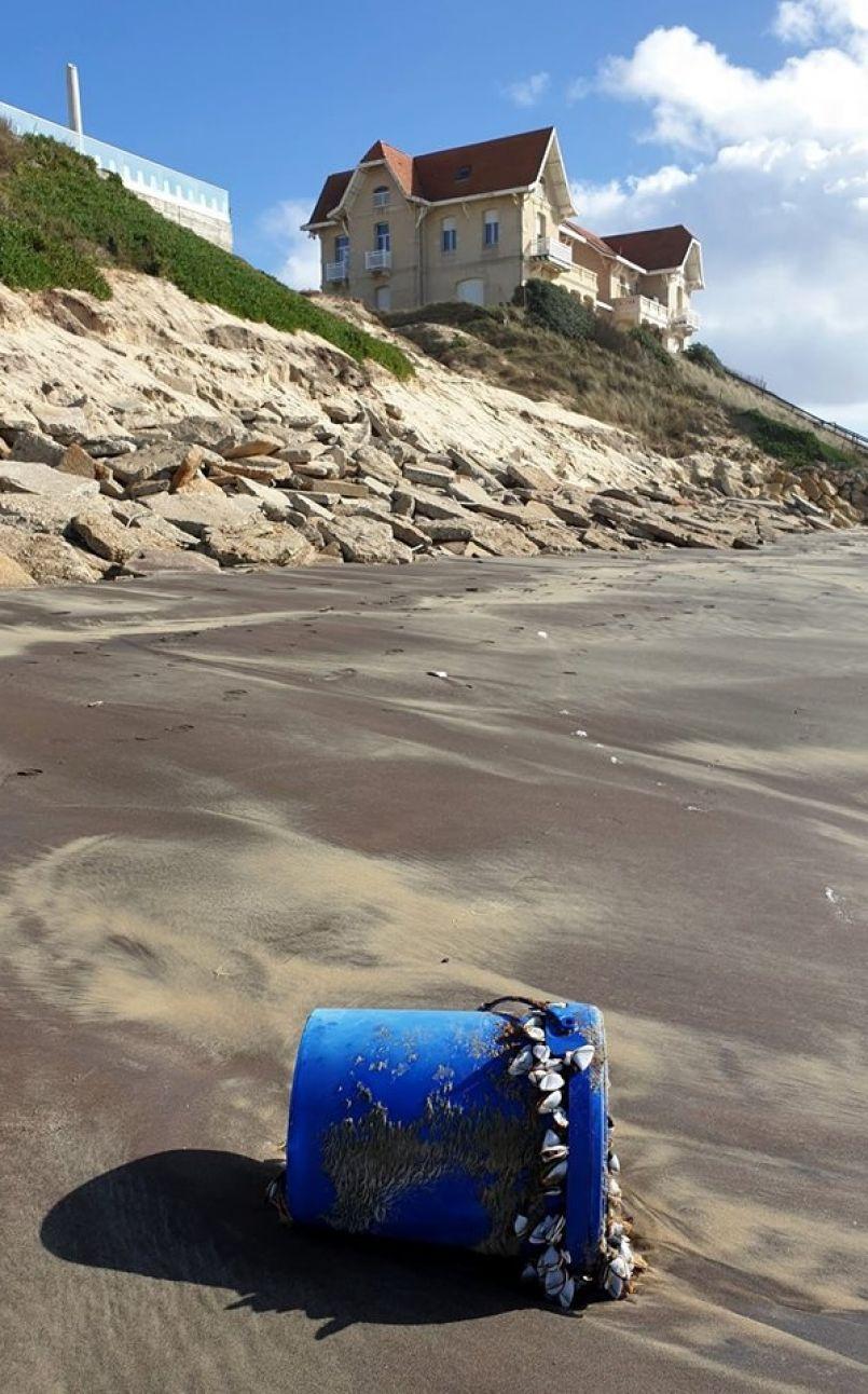Situation plutôt compliquée d'avant saison à Biscarrosse-plage où l'océan a repris le sable