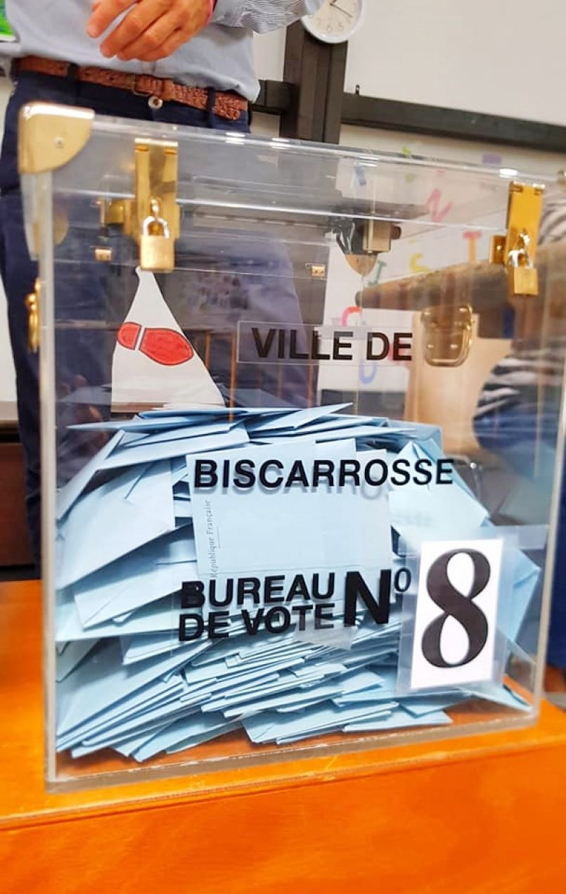 Européennes 2019 : les Landais ont plus voté qu'en 2014 et mettent Loiseau sur orbite