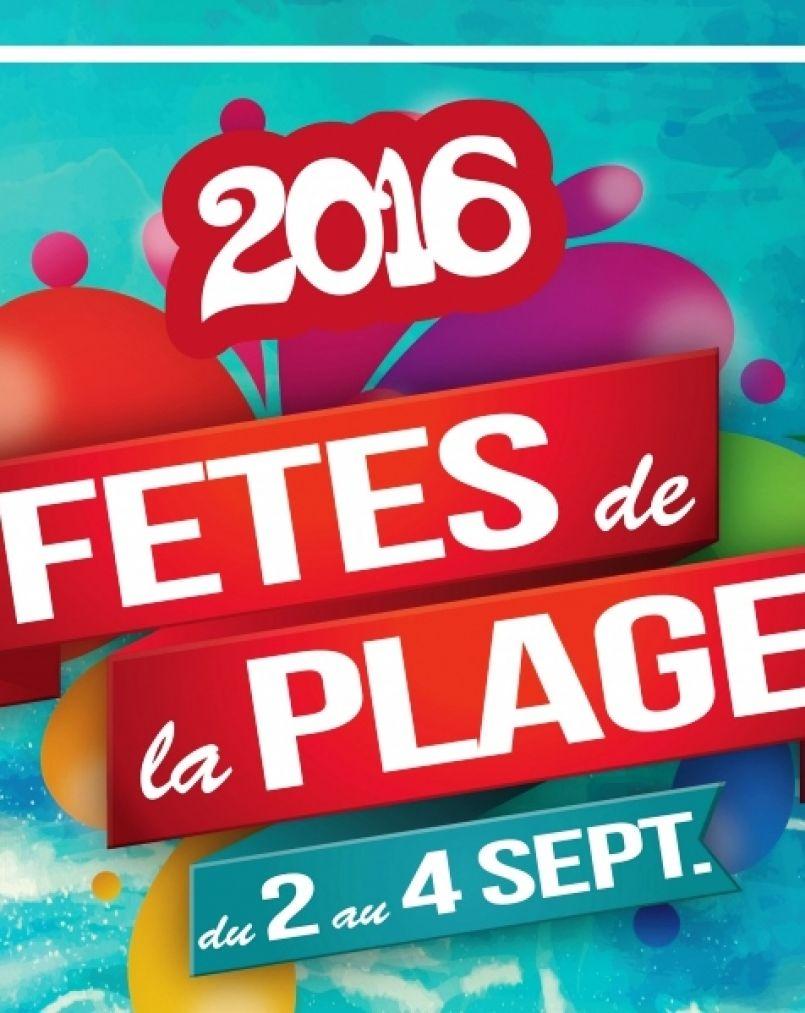 12èmes Fêtes de Biscarrosse-plage du 2 au 4 septembre 2016