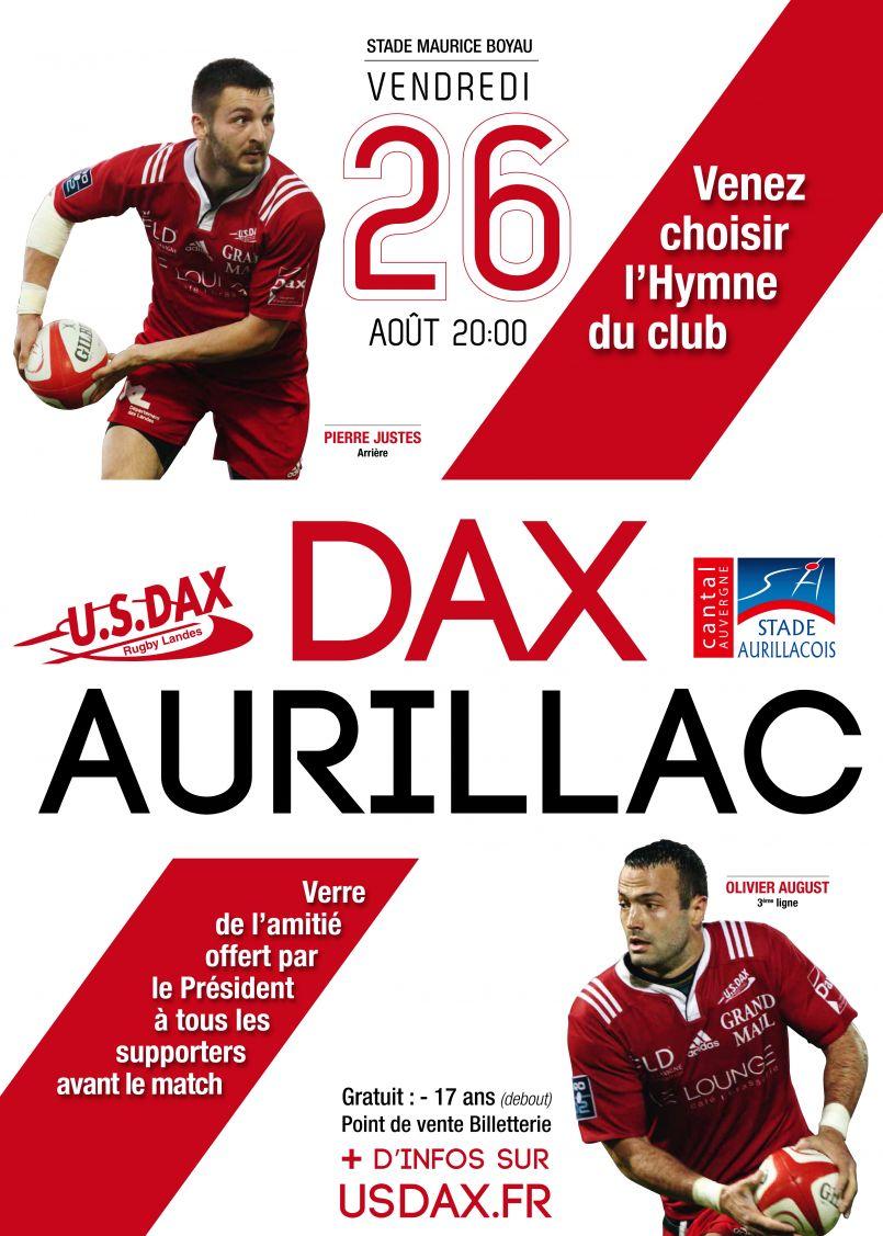 Début de championnat de Pro D2 : première victoire importante de l'US Dax face à Aurillac