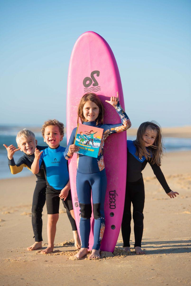 Avec 'Vive le surf, yeah !', surfez comme vous aimez. Aux Editions Chocolatine.
