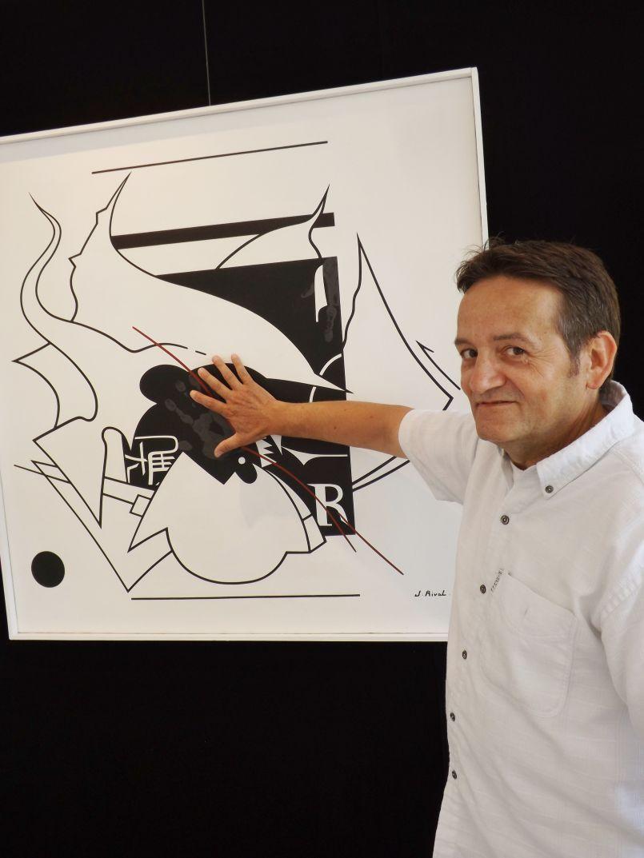 FGL Artiste : Jacques Rival expose Galerie de l'Orme à
