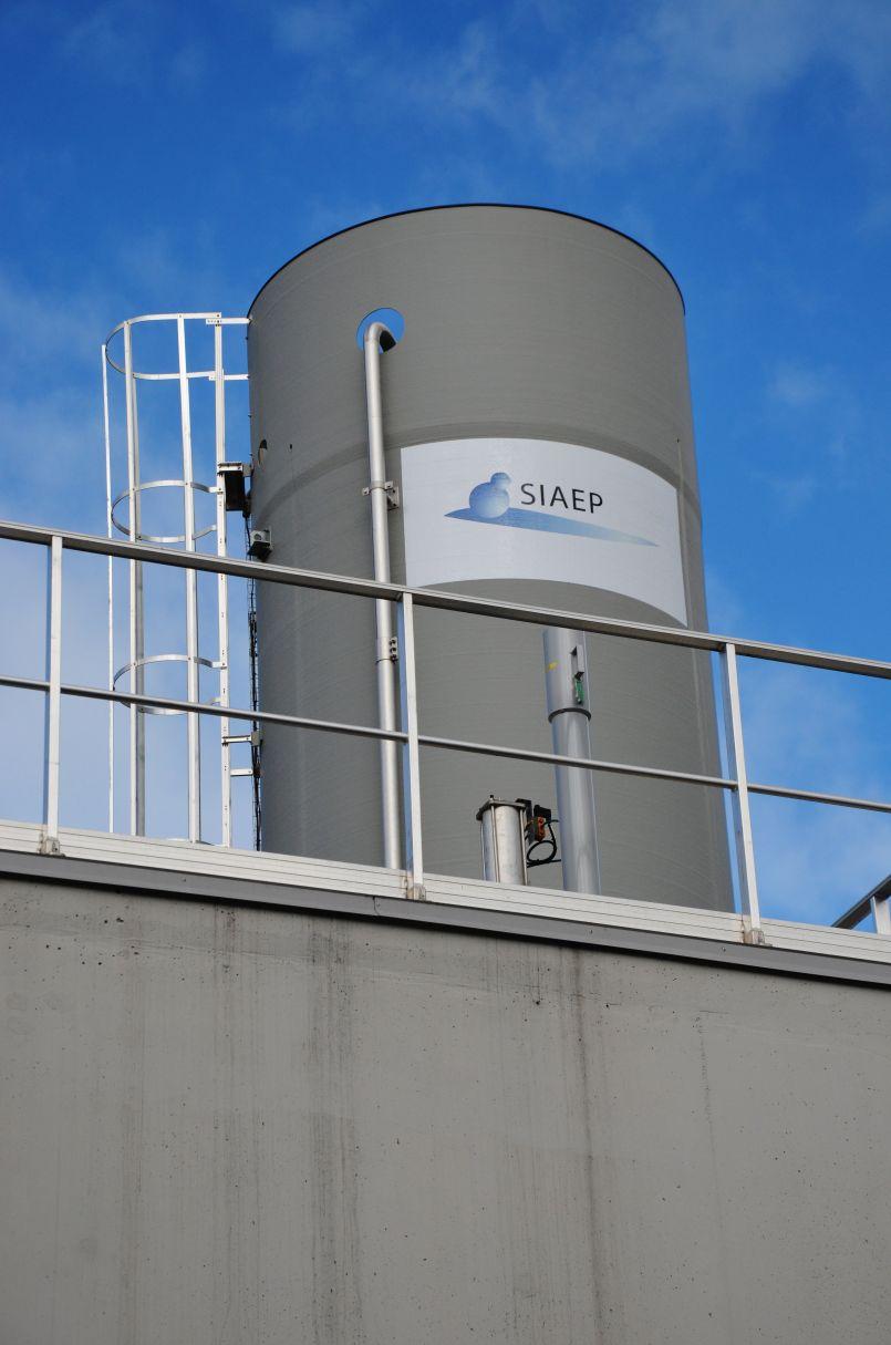 Et c'est ainsi que naquit la nouvelle usine d'eau potable de Larrigade à Biscarrosse
