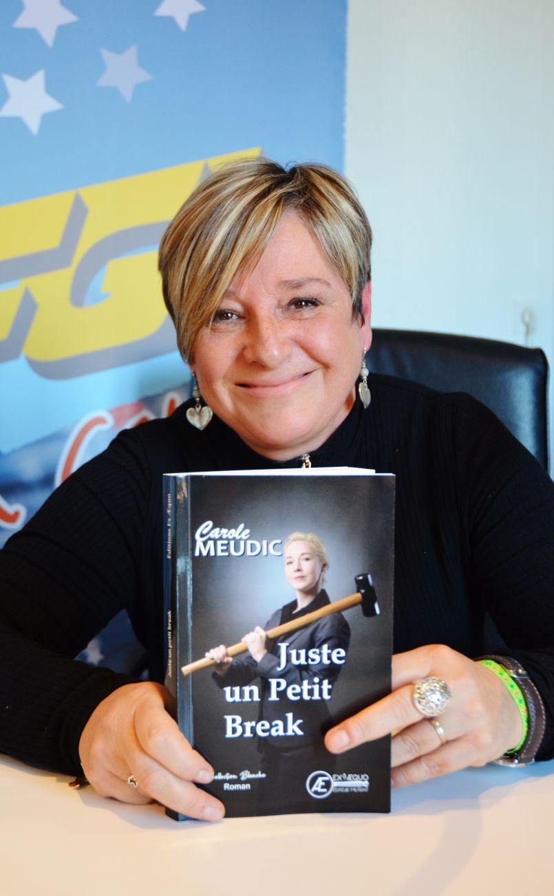Parution du premier roman de la Biscarrossaise Carole Meudic