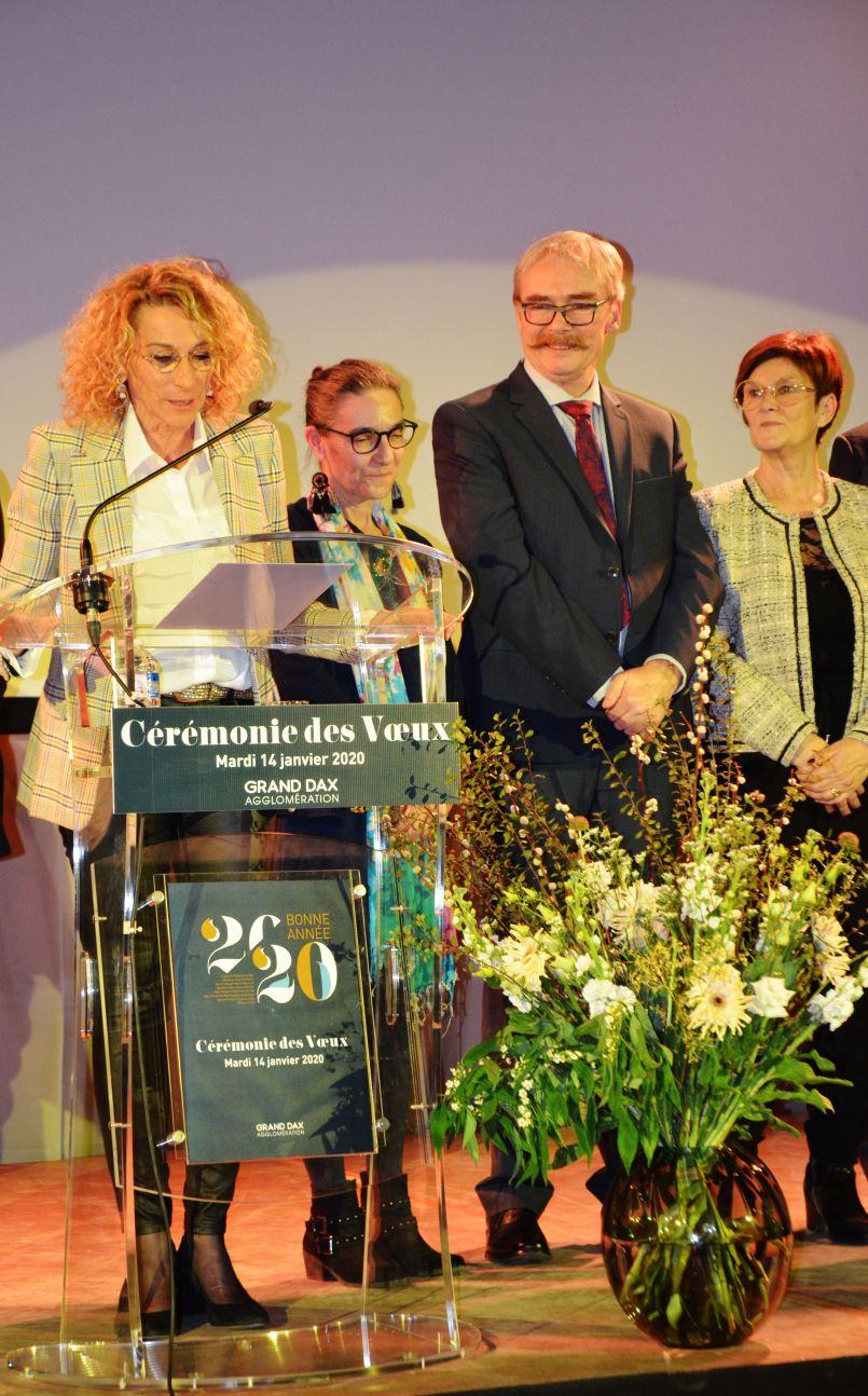 Vœux 2020 du Grand Dax : Elisabeth Bonjean entend finir le travail commencé et appelle à une pause concernant les réformes territoriales