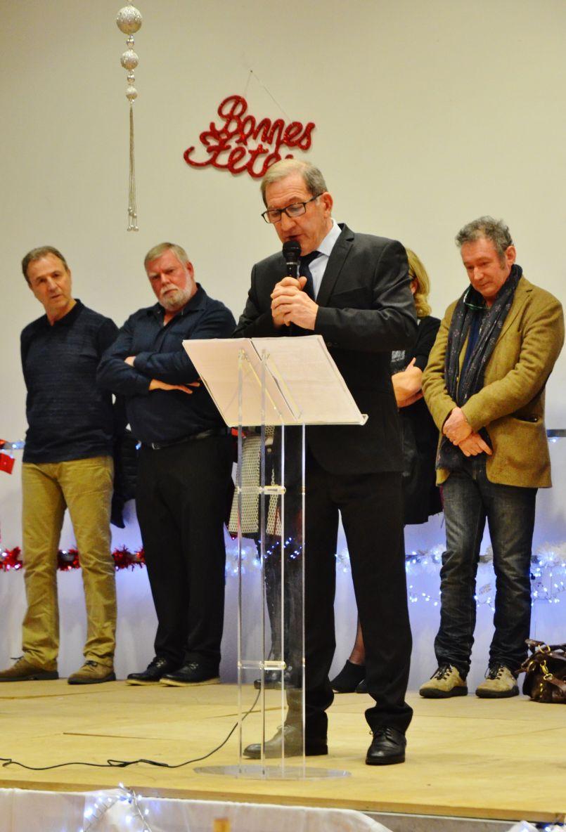 Entretien avec Jean-Marc Billac. Il a adressé ses derniers vœux à la population de Pontenx les forges (et soutiendra Henri-Jean Thebault, candidat)
