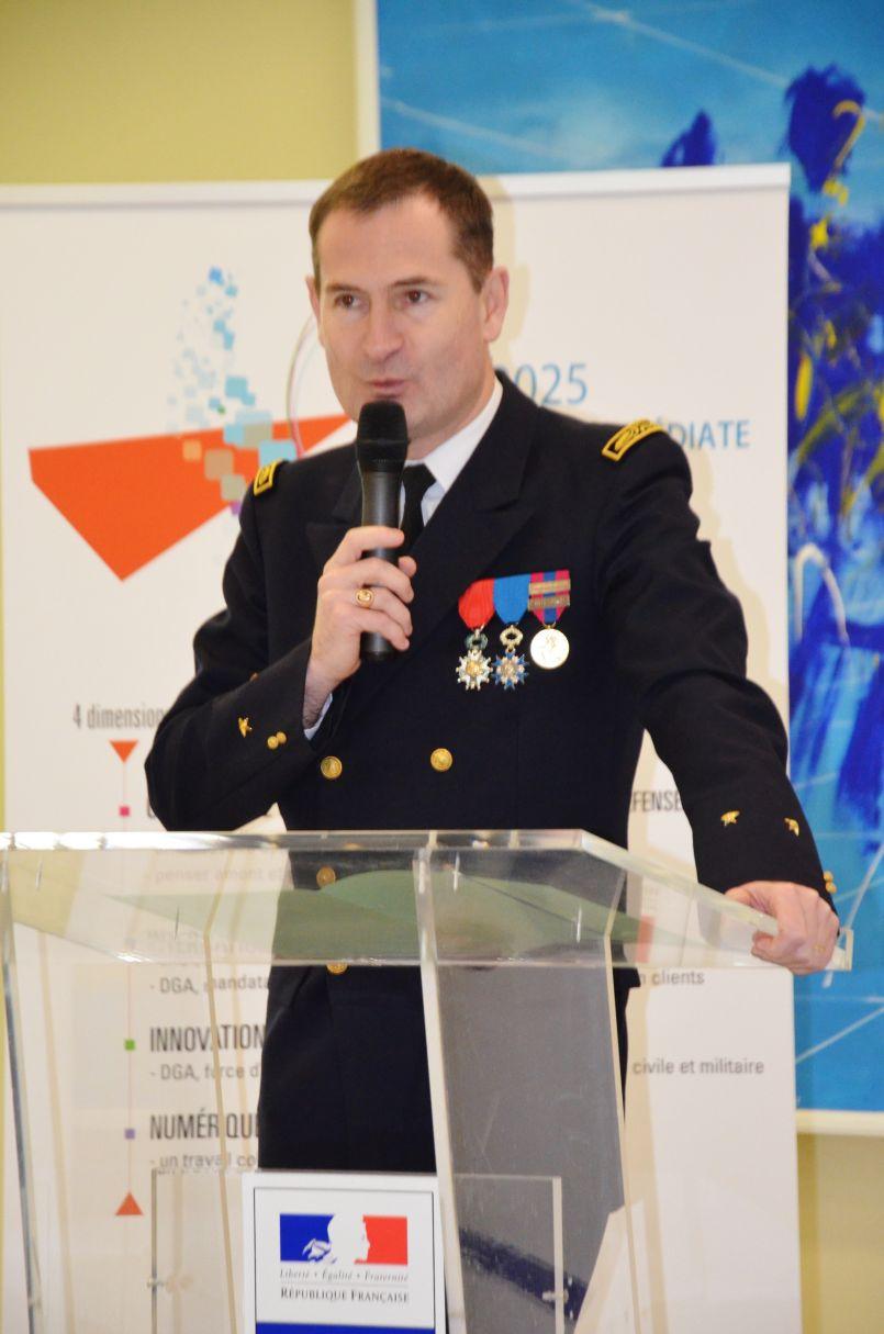 DGA Essais de missiles de Biscarrosse : retour aux sources pour F-Xavier Dufer, directeur
