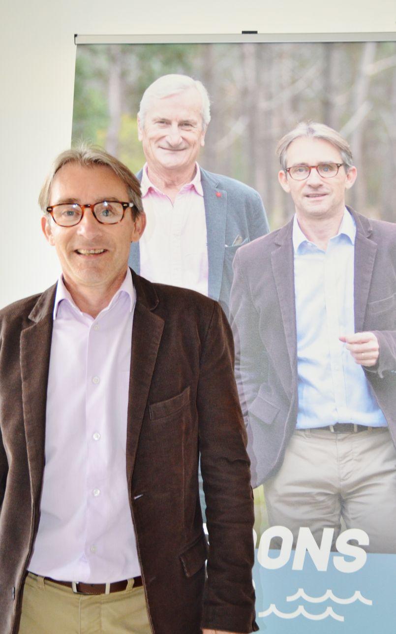 Campagne des Municipales à Mimizan : les premières propositions du candidat Arnaud Bourdenx