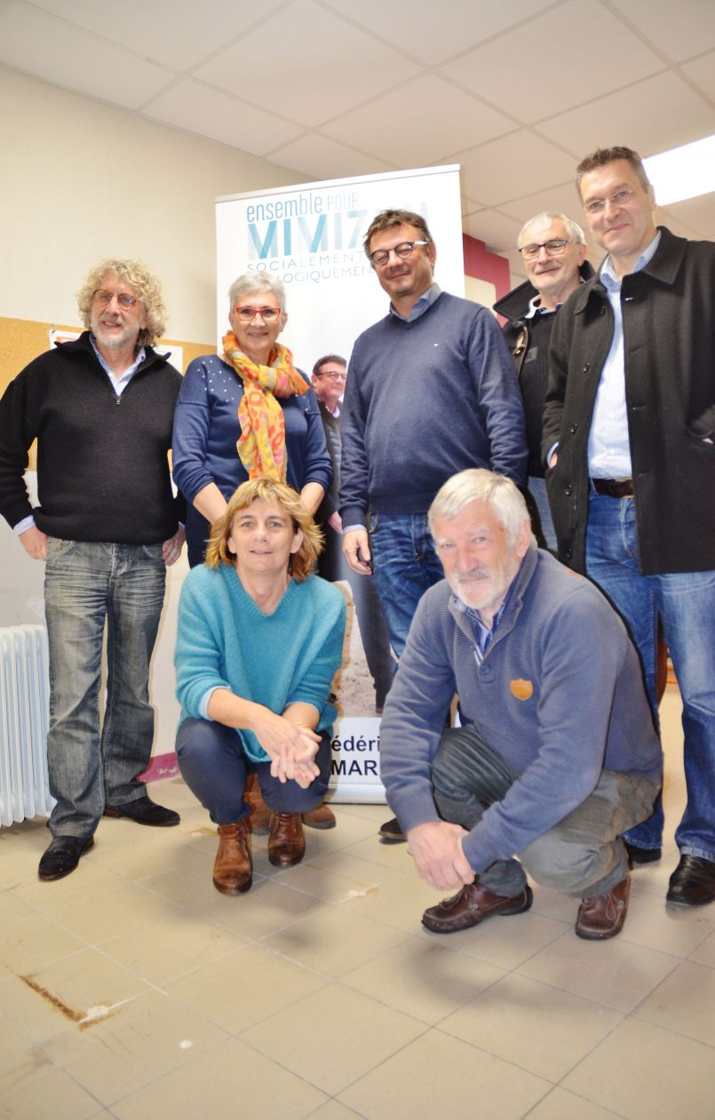 Municipales à Mimizan : 'Socialement juste et écologiquement fort' pour Frédéric Pomarez