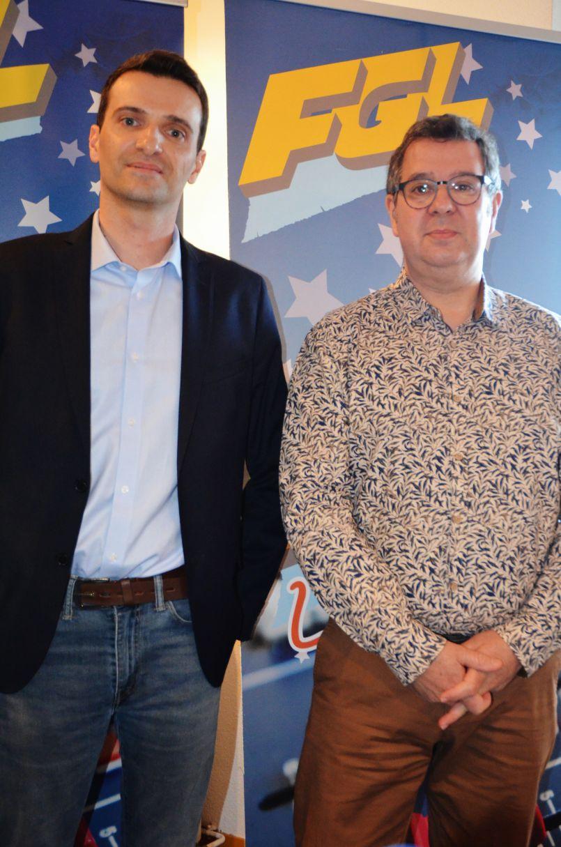 Municipales Parentissoises : 'Face-à-face' animé et enjoué entre Georges Laluque et Julien Bard...