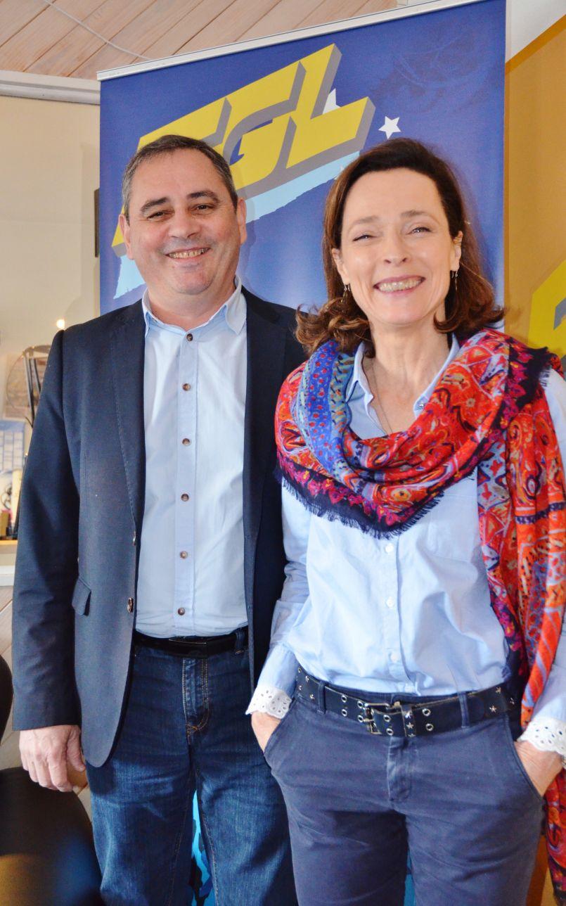 Municipales Biscarrossaises : 'Face-à-face' feutré entre Hélène Larrezet et Patrick Dorville