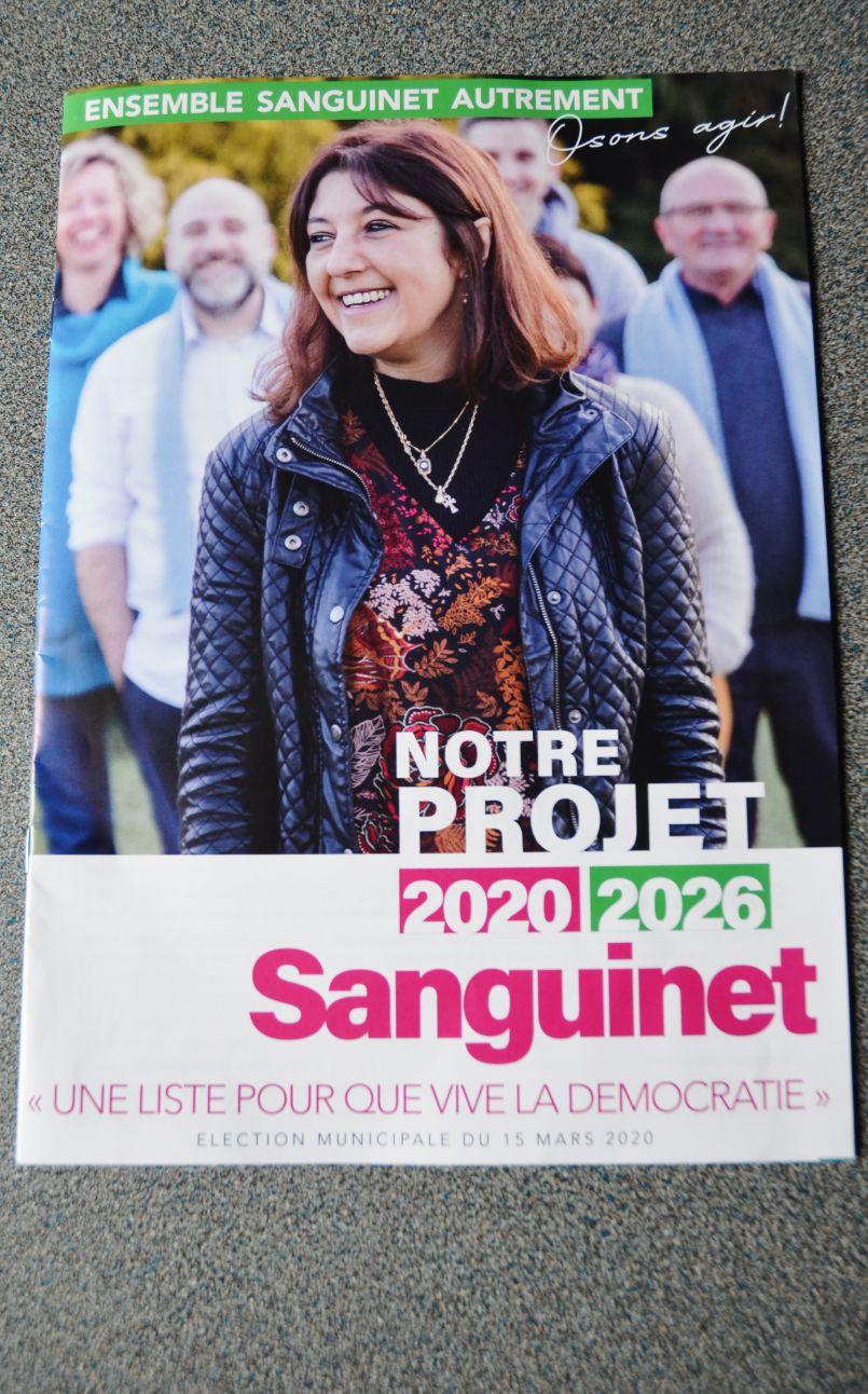 Sanguinet : 'Municipales' à distance pour les candidats qui n'échangeront pas en direct. Aujourd'hui Nathalie Larrue-Soubaigné