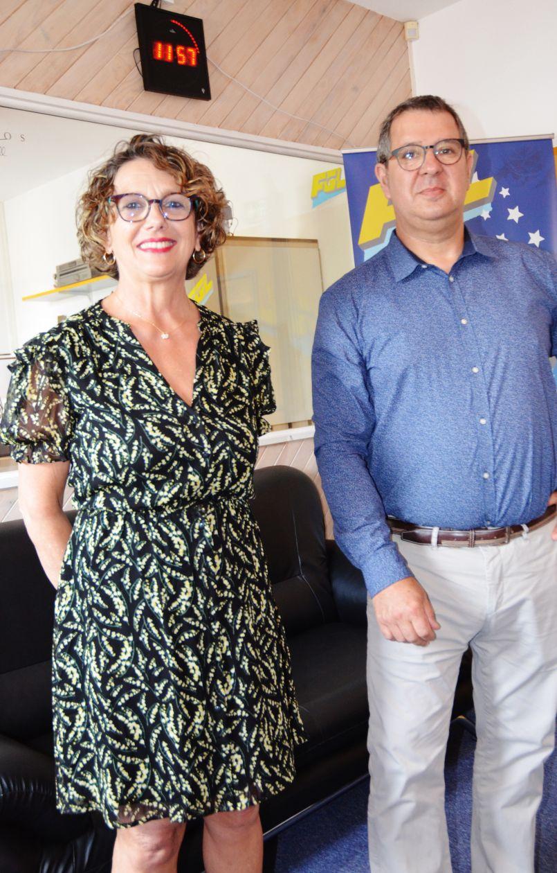 Municipales Parentissoises 2020 : pour Marie-Françoise Nadau et Georges Laluque, des visions différentes développées lors d'un échange constructif et courtois.