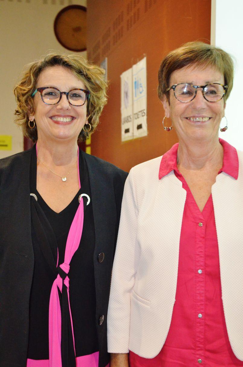 Installation du nouveau conseil de la Communauté de Communes des Grands Lacs : Françoise Douste, maire de Gastes, élue présidente.