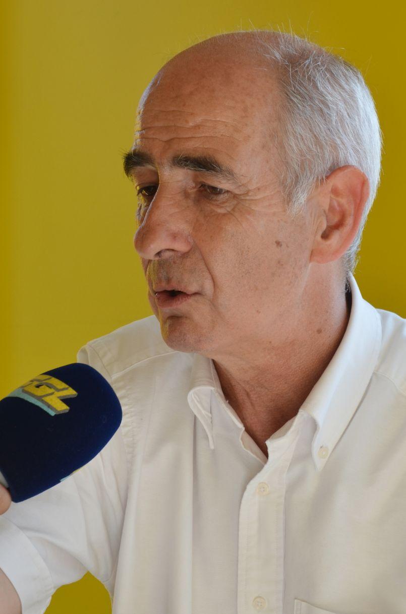 Juillet 2020 à Vieux Boucau : le maire Pierre Froustey plutôt satisfait de cette saison.