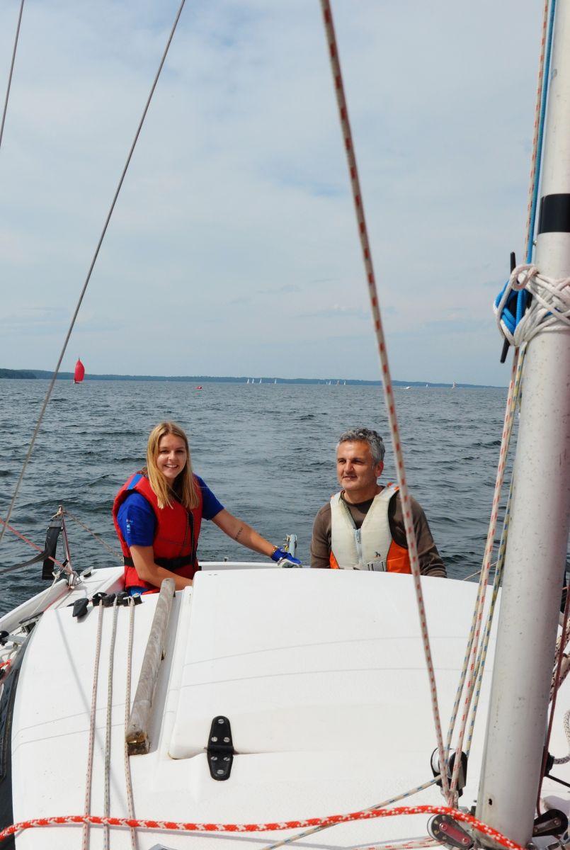 Après les jeunes régatiers, les femmes tiennent la barre avec le Yacht Club d'Ispe
