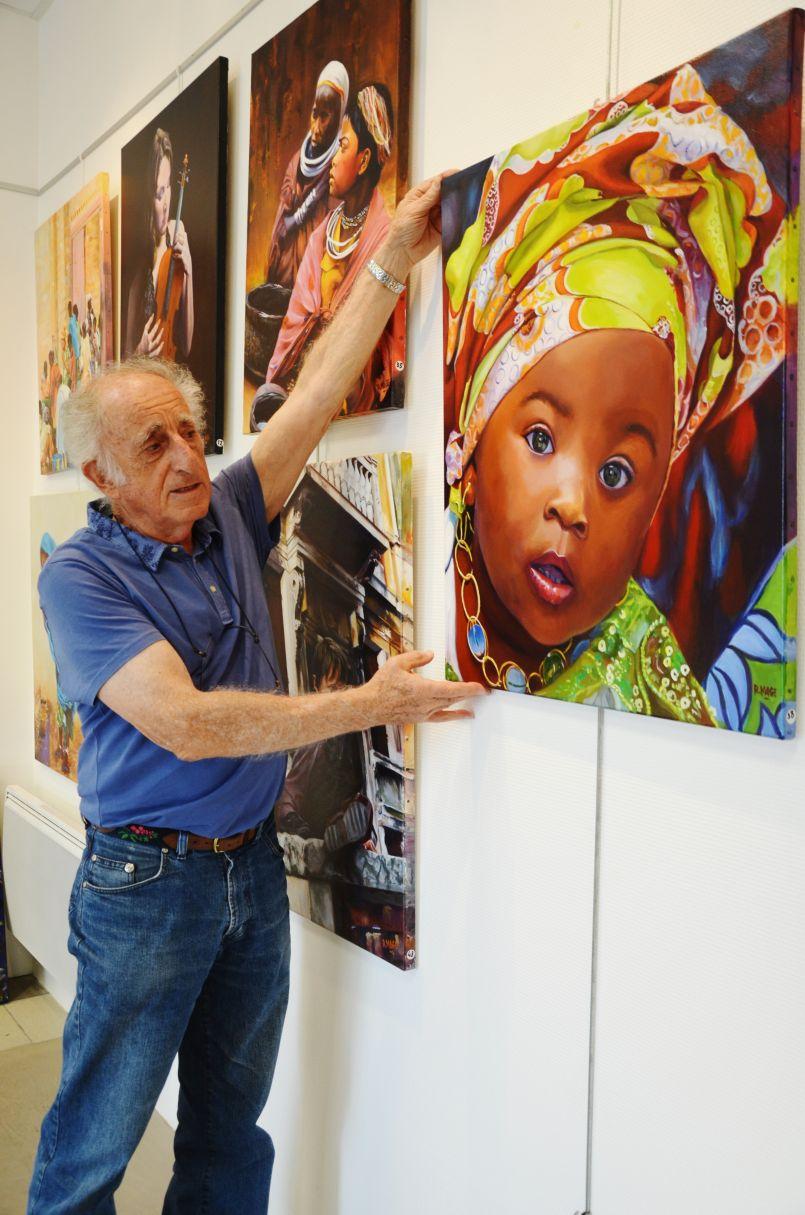 Des couleurs et une âme. Régis Mage expose Galerie de l'Orme de Biscarrosse ville