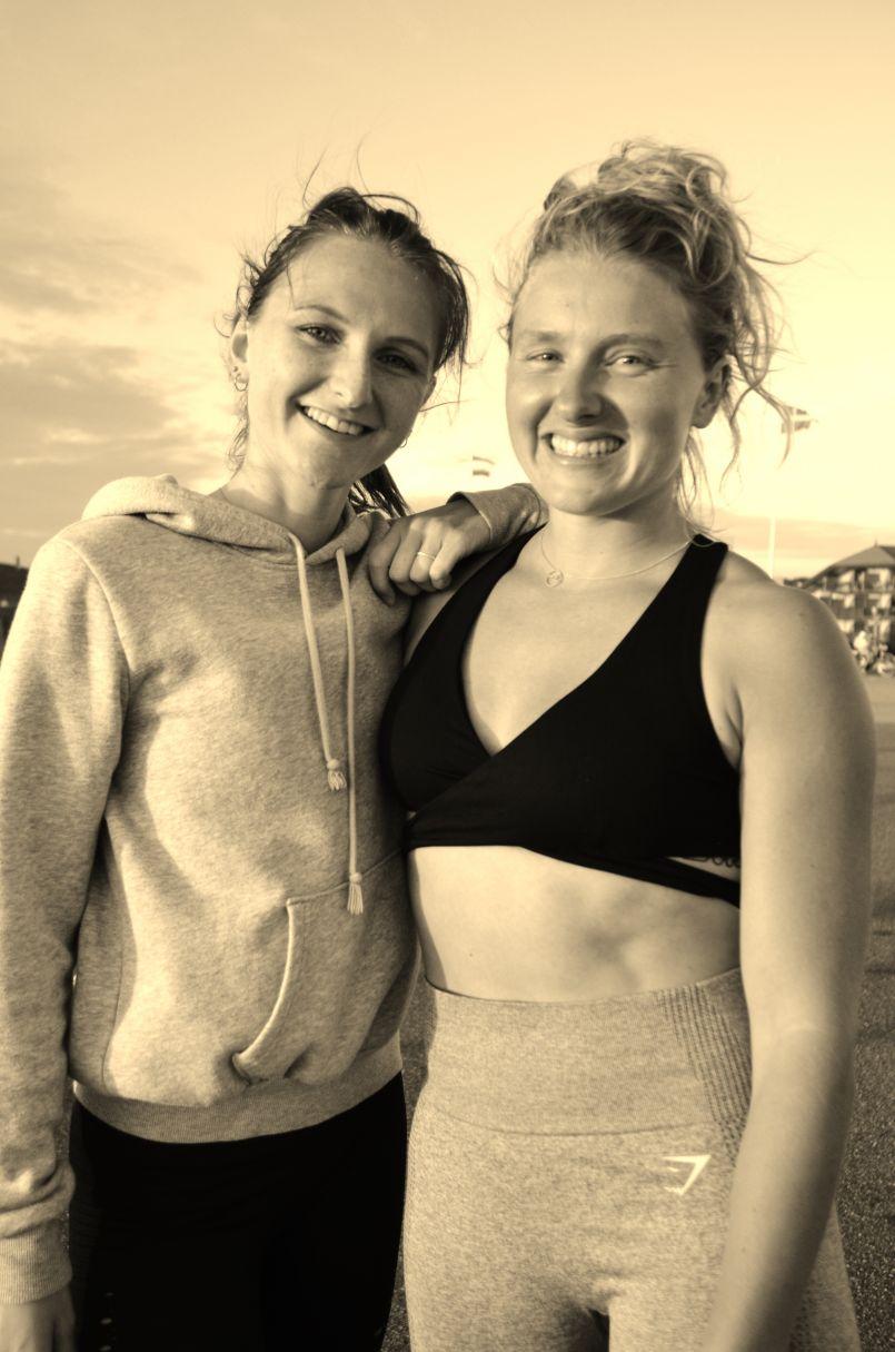 Anti-anxiogène, le 'Fit Challenge' d'Alyson et Maëlle a hebdomadairement animé votre été