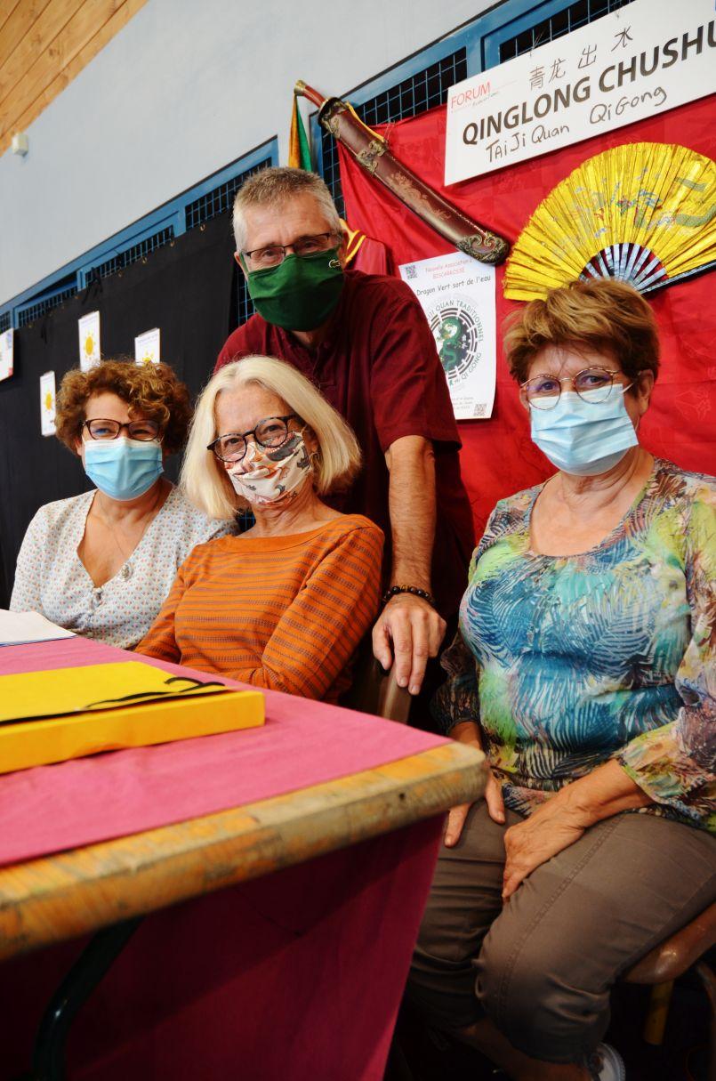 Le 'Dragon vert' à Biscarrosse : une belle façon de positiver en ces temps de jachères sociales...