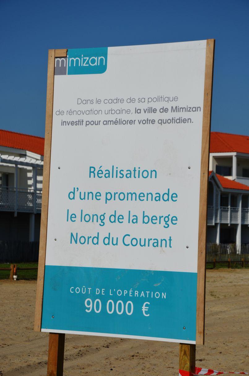 Quand la ville de Mimizan investit à la plage...
