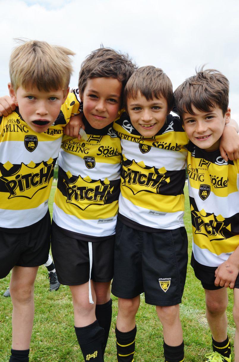 Le Racing, La Rochelle et Tyrosse remportent le 26ème Tournoi des jeunes rugbymens