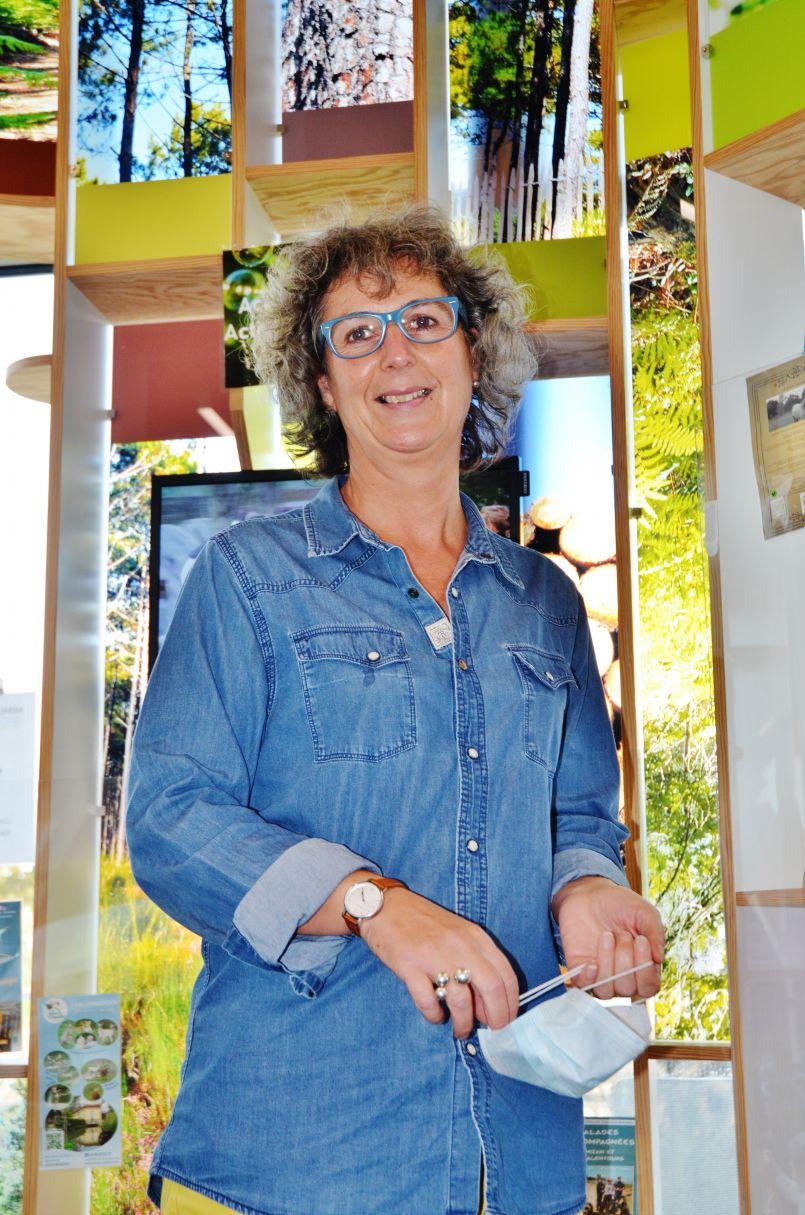 Mimizan : 'Scène d'automne' et bilan touristique avec Nathalie Bernet