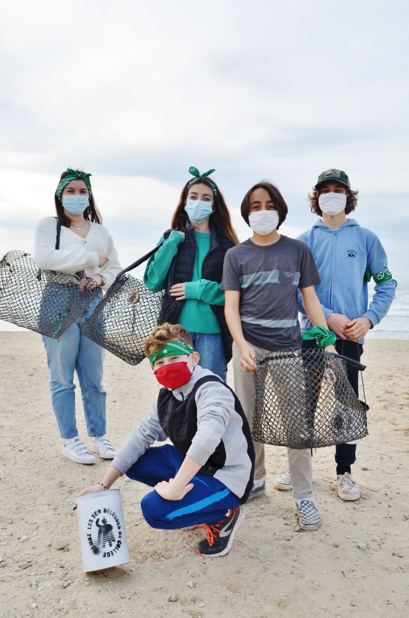 Un sport à la mode à Biscarrosse : la collecte de déchets sur nos plages