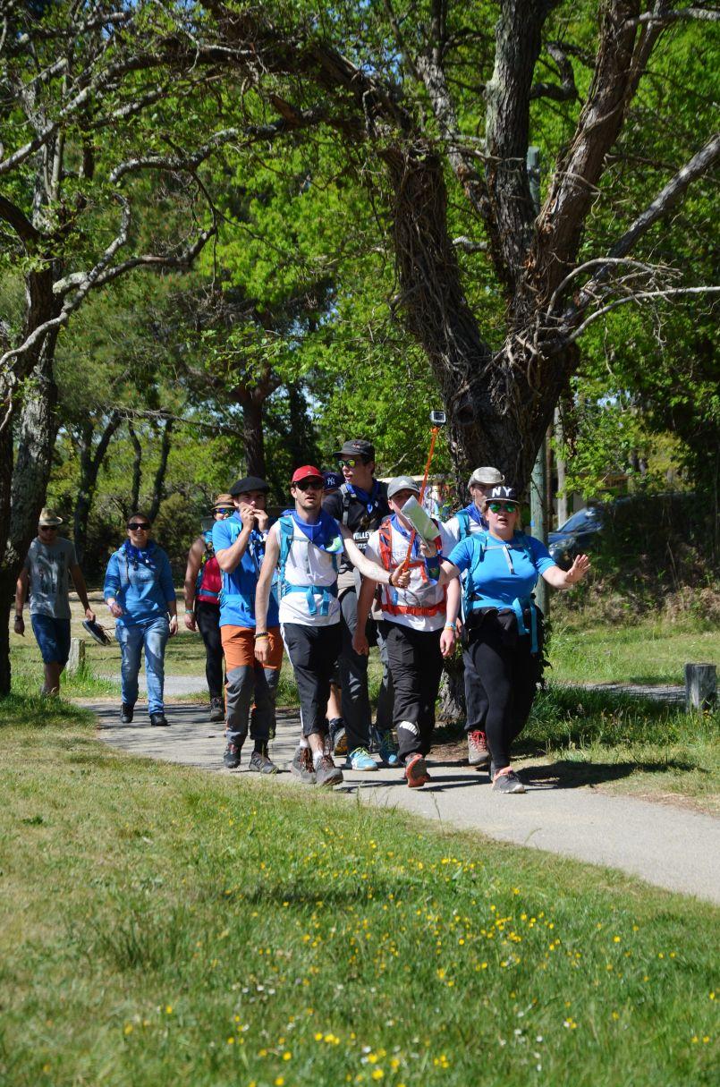 Périple pédestre de 182 Kms sur la voie littorale de Compostelle pour les 'Teenagersprojets'