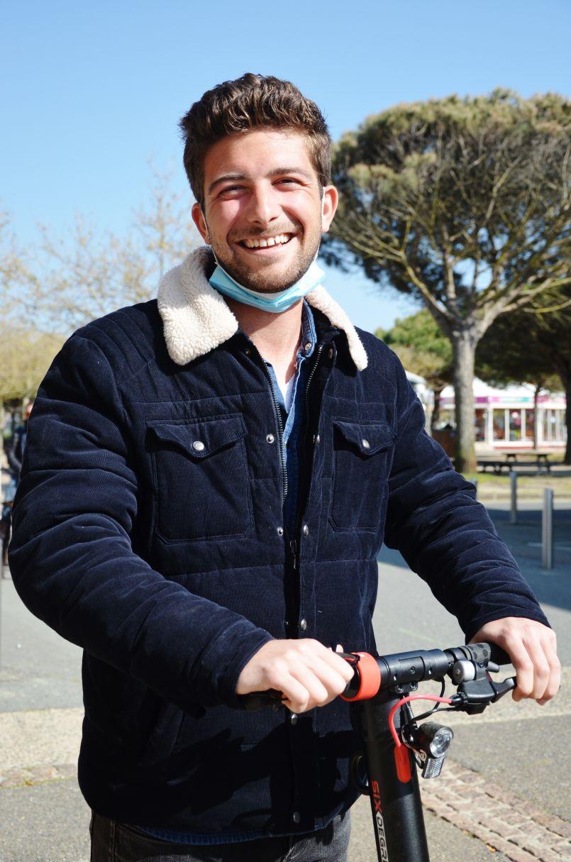 Biscarrosse-Plage : portrait du jeune entrepreneur Alexi Baldassari qui, malgré le contexte, se lance dans cette 'aventure'...
