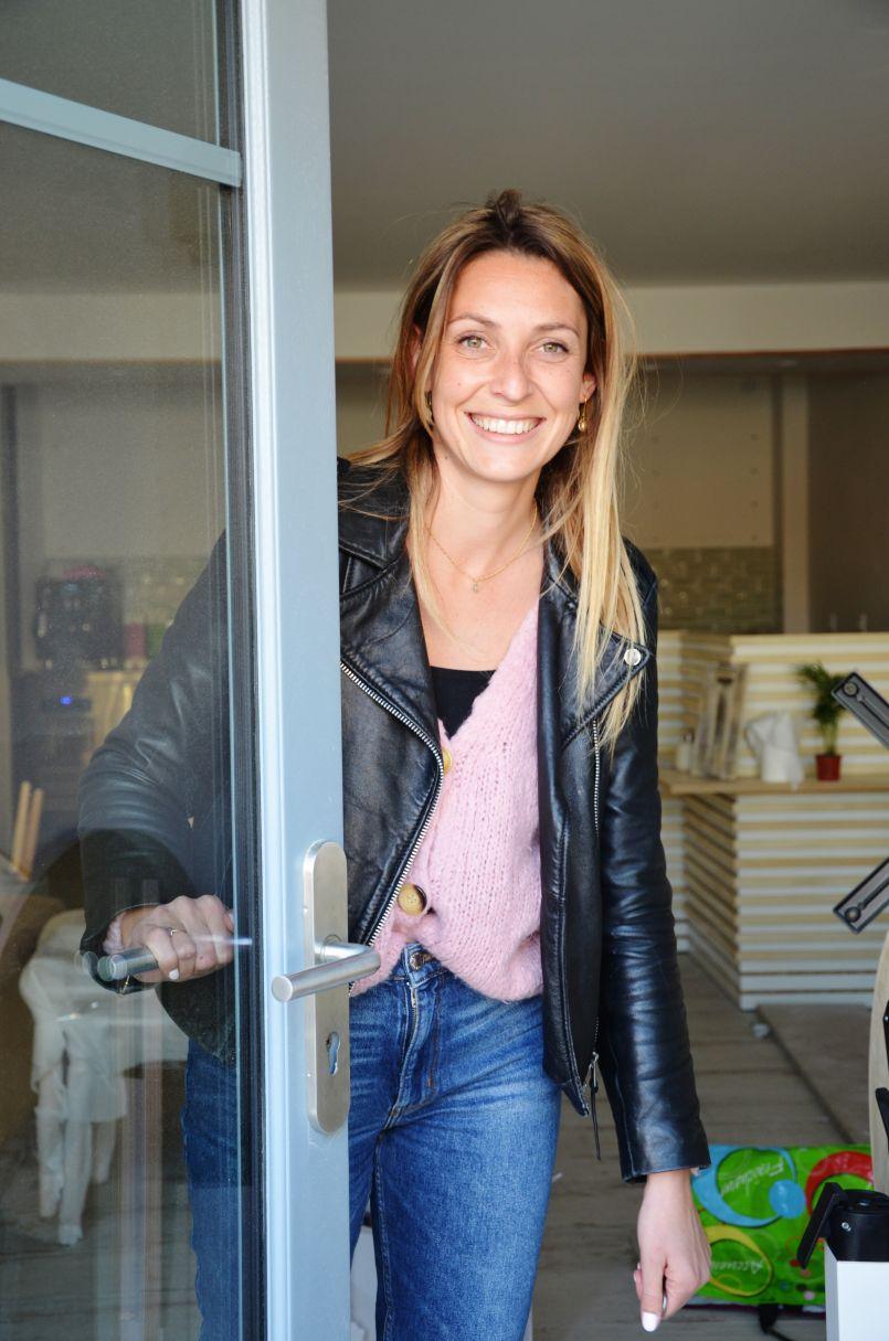 Entreprenariat : rencontre avec la jeune Mélody Foucher à Biscarrosse-Plage (40).