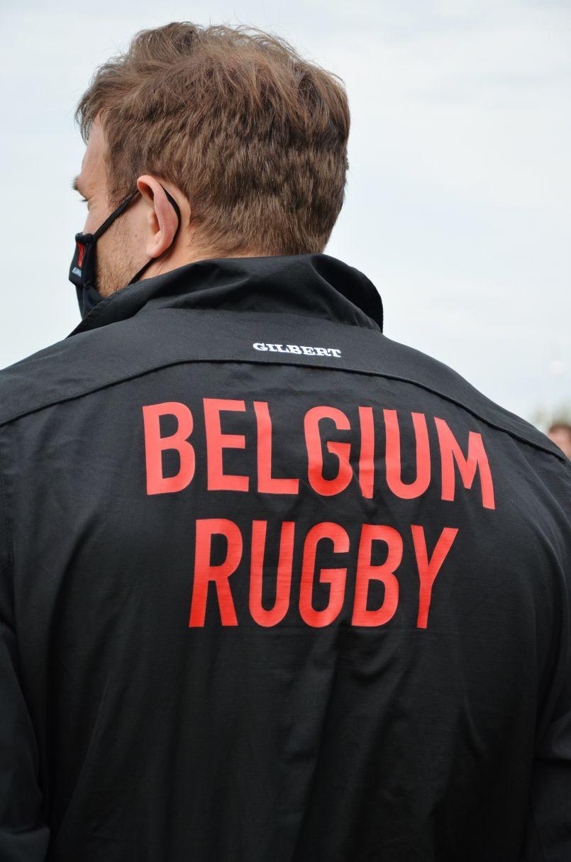 De bonnes 'pignes' pour la sélection belge de rugby, en stage de préparation à Biscarrosse, du 9 au 11 avril 2021. Ils avaient la 'frite' !