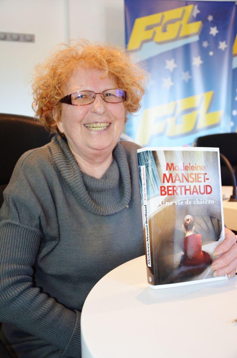 Prolifique auteure, magnifique romancière, Madeleine Mansiet-Berthaud accouche de son 21éme roman adulte : 'Une vie de Château'