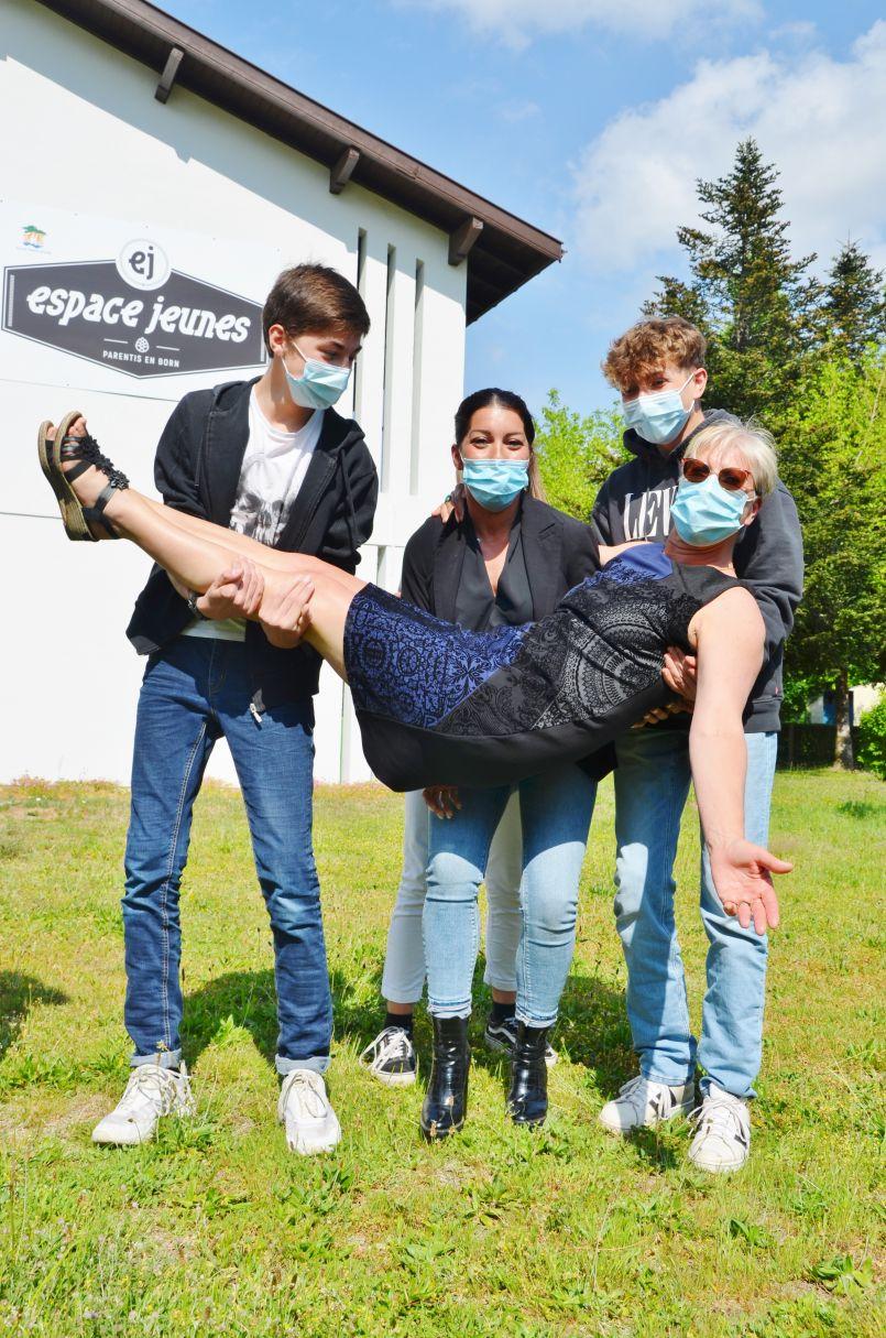 A Parentis en Born, les jeunes de l'Espace portent des projets défendus par les élus