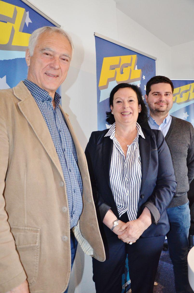 Départementales 2021, canton des Grands Lacs : Alain Dudon et Patricia Cassagne briguent un nouveau mandat. Une candidature tout aussi légitime que celle de 'Couleurs Landes' a précisé l'élu au micro d'FGL.