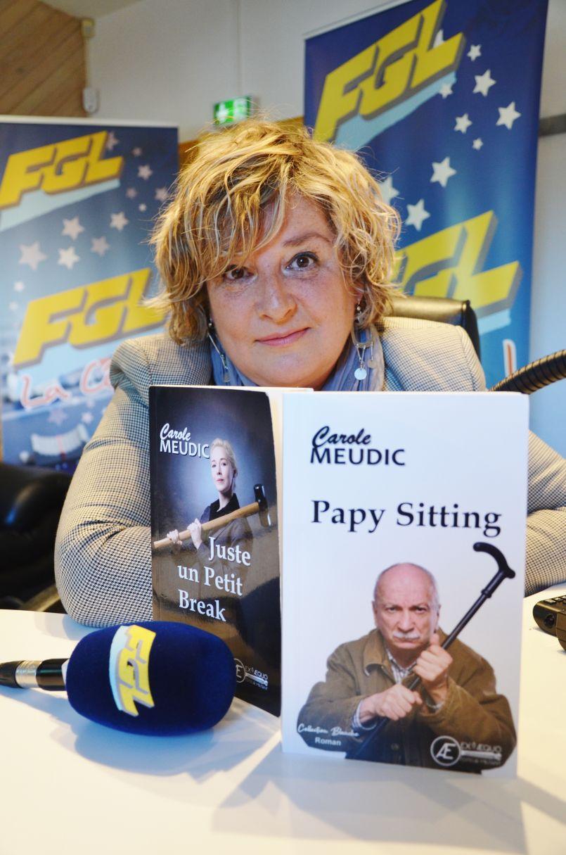 Carole Meudic : la Biscarrossaise signe son deuxième roman, 'Papy Sitting'