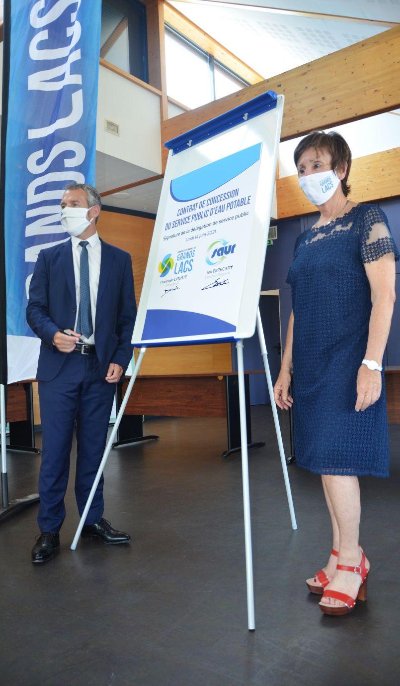 Service public d'eau potable : 30 ans après la SAUR, et dès ce 1er Juillet 2021, revient dans la région des Grands Lacs