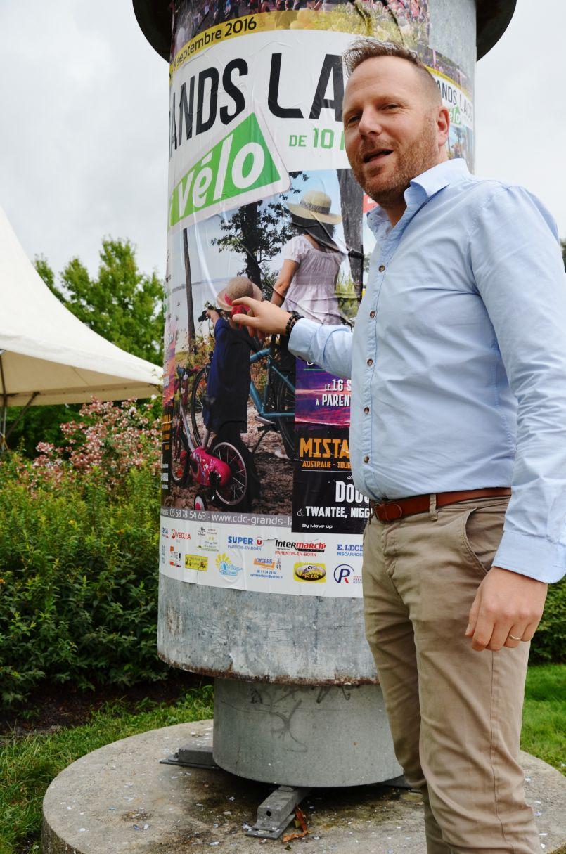 De douces liaisons en Pays de Born...à vélo, sur les pistes cyclables des Grands Lacs